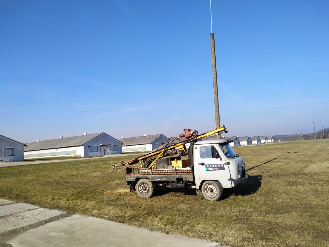 wiercenia okolice Płońska - Glinojeck